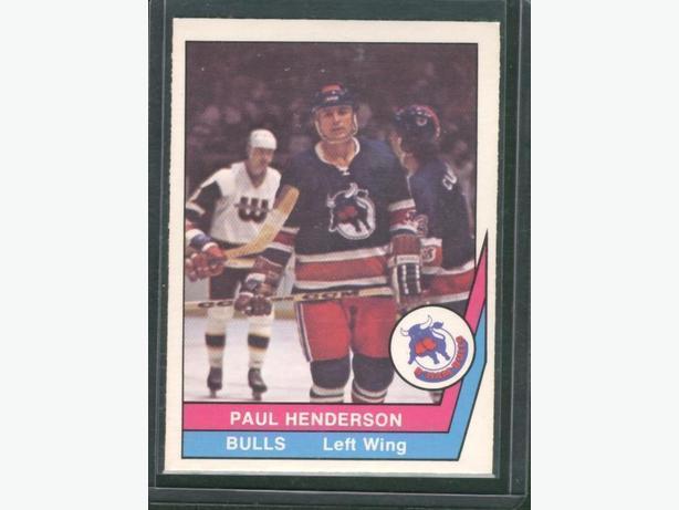 1977-78 O Pee Chee WHA Paul Henderson Birmingham Bulls