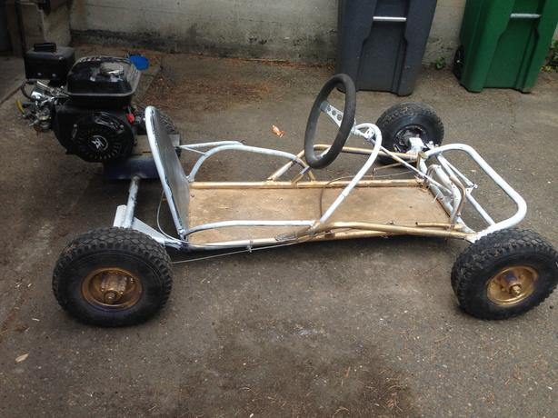 Home built go kart saanich victoria for Go kart interieur quebec