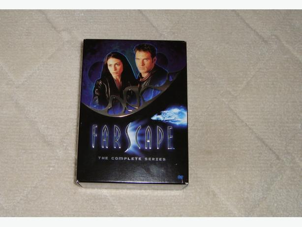 Farscape complete all seasons DVD set