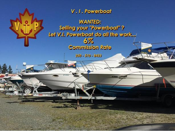 WANTED: POWER BOATS