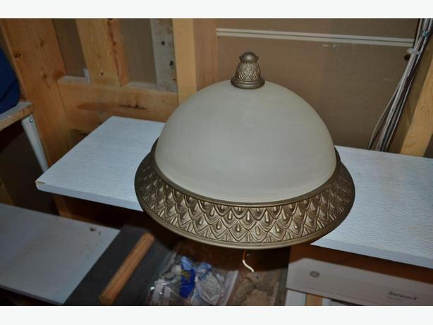 Ceiling light Alabaster and Bronze type