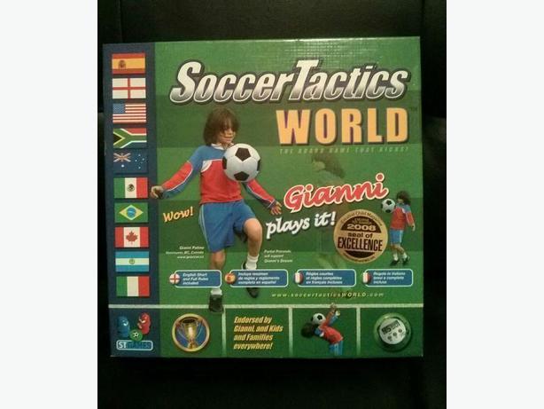 Soccer Tactics World board game