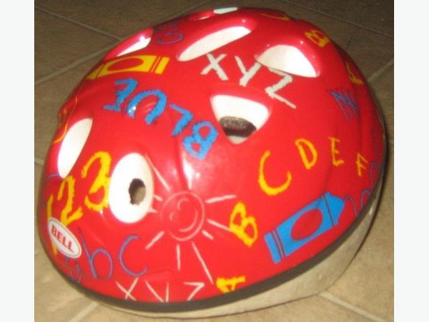 alphabet helmet