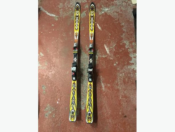 Rossingnol Dualtec Mountain Viper 9.9 Skis with bindings