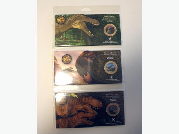 50 Cents 2010 Dinosaur Lenticular Series Coins