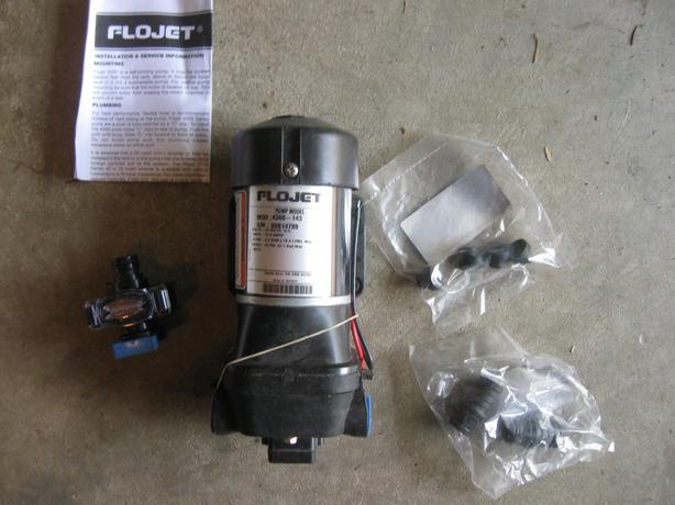 Flojet 4.9 GPM Pump