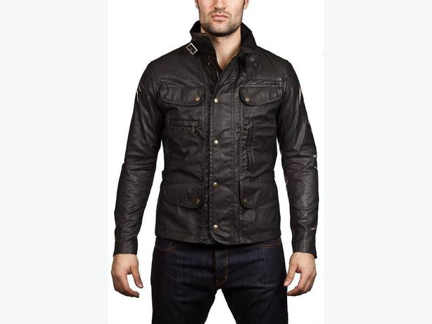 WANTED: Belstaff men's black 'Seven' jacket sz XXL/44US/44UK/54EU