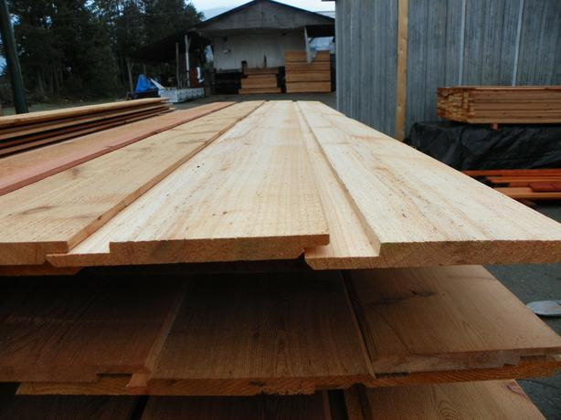 "CEDAR 8"" CHANNEL SIDING SALE"