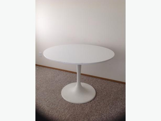 OBO White Ikea Docksta Table