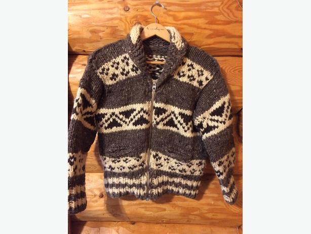 Cowichan Indian sweaters