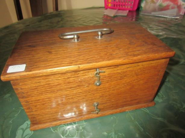 QUACK MEDICINE BOX FROM 1800S