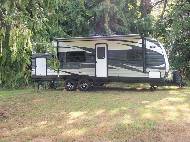 WANTED PAD OR SPOT FOR MY 2015 TRAVEL TRAILER