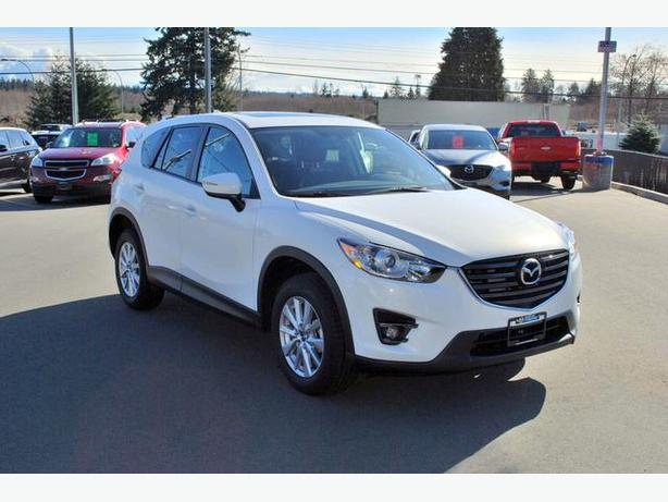 New 2016 Mazda Cx 5 Gs Awd Campbell River Comox Valley