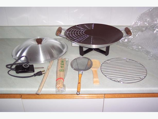 Oyster Electric Wok (new)