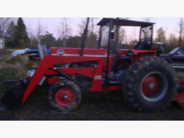 165 Massey Ferguson Diesel Tractor