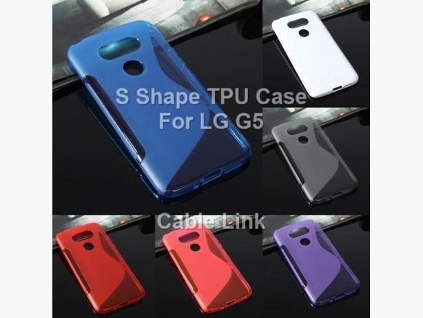 S Line Soft TPU Gel Silicone Case Cover For LG G5