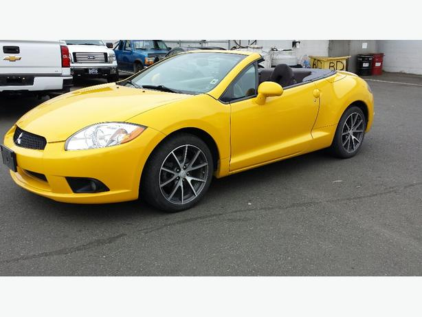 used 2011 mitsubishi eclipse spyder gs for sale in parksville outside comox valley courtenay comox. Black Bedroom Furniture Sets. Home Design Ideas