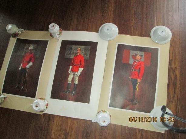 RCMP Collectors 1973 Centennial Prints