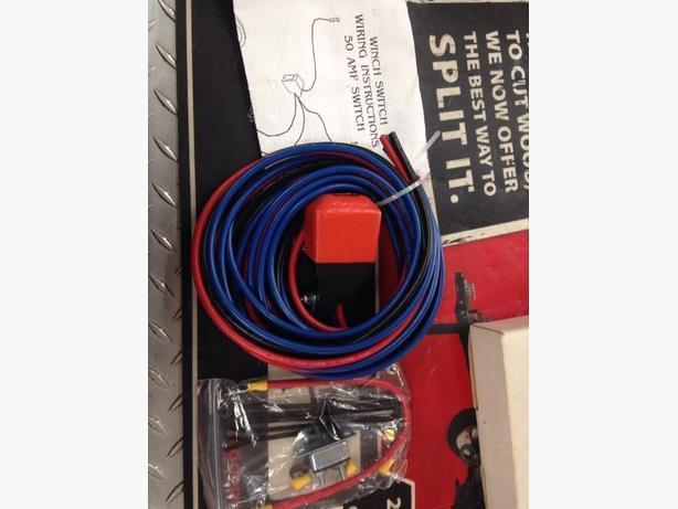 50 Amp Winch Rocker Switch Kit