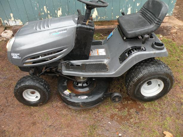 Murray Lawn Mowers Battery : Murray pro lawn tractor queens county pei