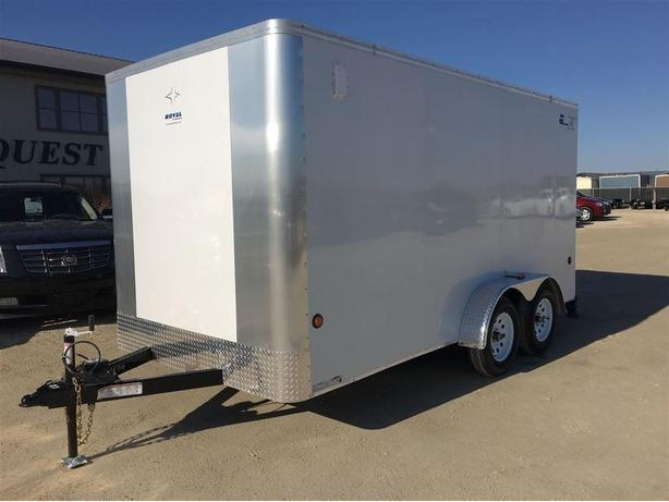 2017 Royal Cargo LT 7 X 14 Tandem Axle with Ramp Door - 7000k