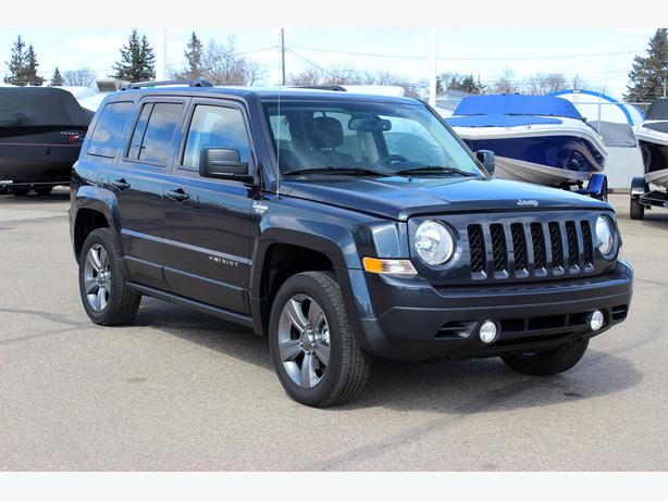 2015 Jeep Patriot High Altitude 4x4 Sunroof Heated Leather Seats Outside South Saskatchewan