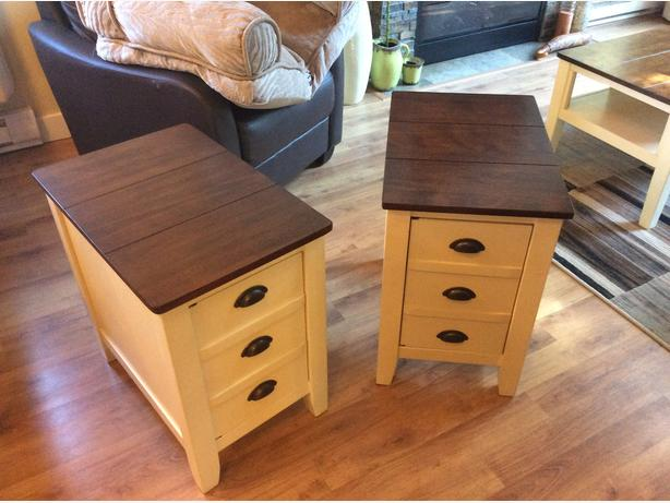 Whitesburg  by Ashley  2 end tables REDUCED