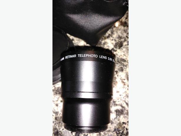 Retinar Telephoto lens