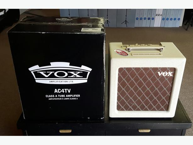 Vox AC4TV All Tube Guitar Amp NEW ** ON SALE ** AC4