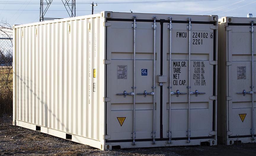 Shipping Containers Seacans Storage Containers Outside