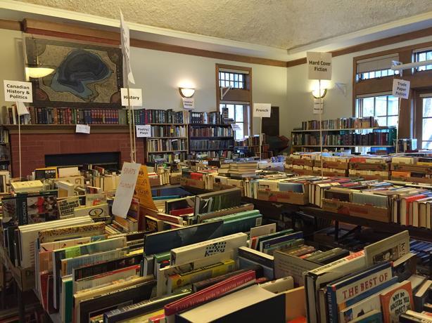 Rockcliffe Park Spring Book Sale Central Ottawa Inside
