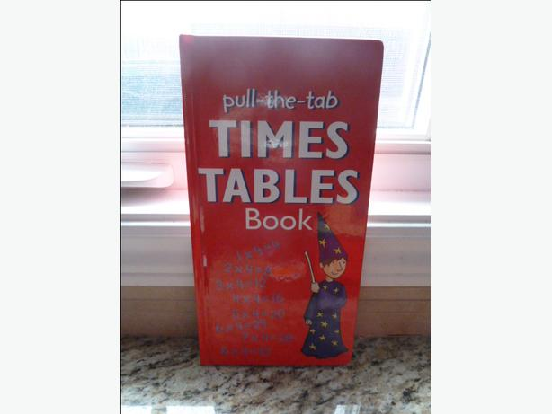 Pull-The-Tab Times Tables Book