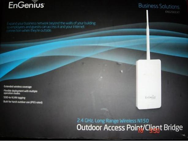 EnGenius Outdoor Internet Access Point/Client Bridge