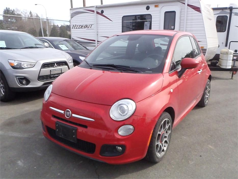 2014 fiat 500 sport hatchback outside comox valley. Black Bedroom Furniture Sets. Home Design Ideas