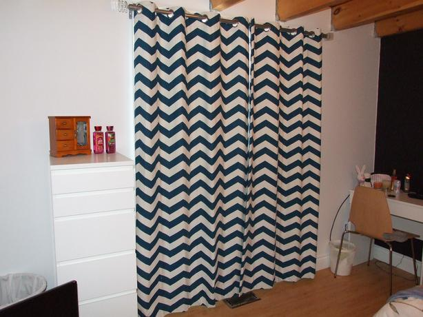 Foam Back Grommet Curtains