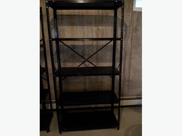 light duty metal shelves other pei location pei. Black Bedroom Furniture Sets. Home Design Ideas