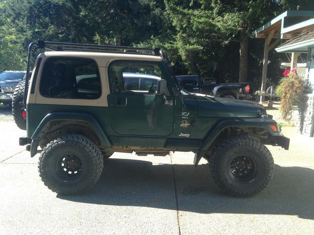 Jeep TJ Sahara edition