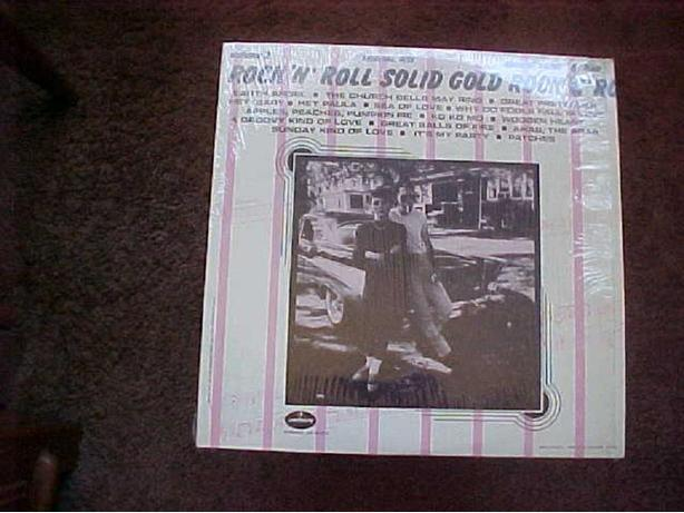 ROCK N ROLL SOLID GOLD VINYL LP