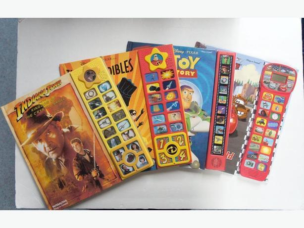 InterActive Video Play-a-sound - 4 books