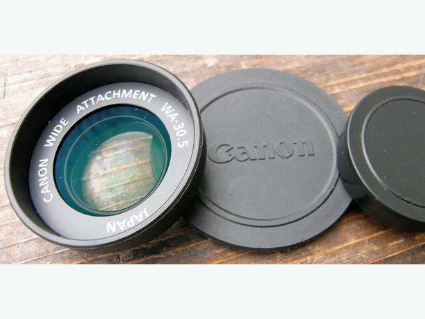 Canon Wide Angle Attachment Lens With 30.5mm Threads VGC