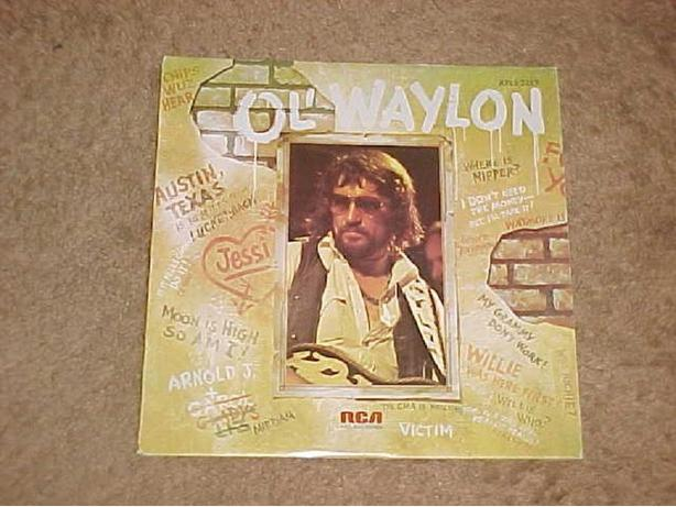 OL' WAYLON VINYL LP
