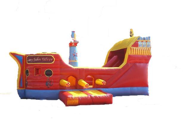 Pirate Ship Bouncy Castle Rental!