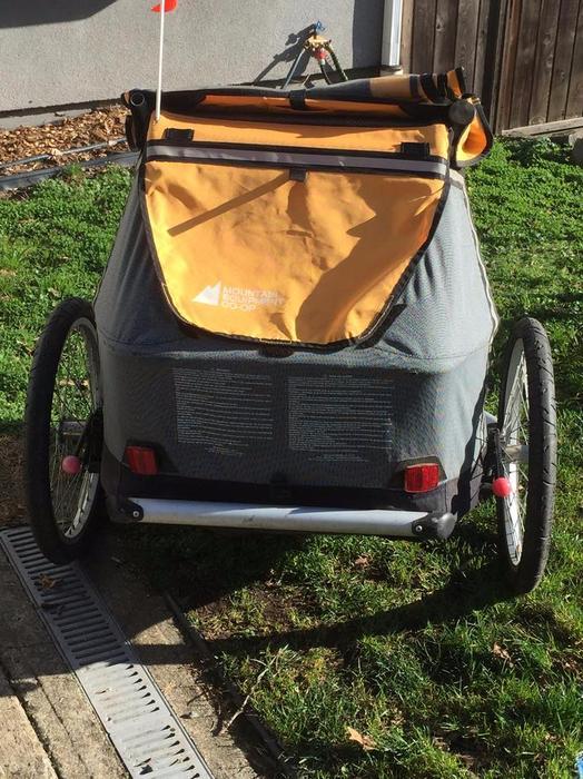 Mec Double Bike Trailer Saanich Victoria
