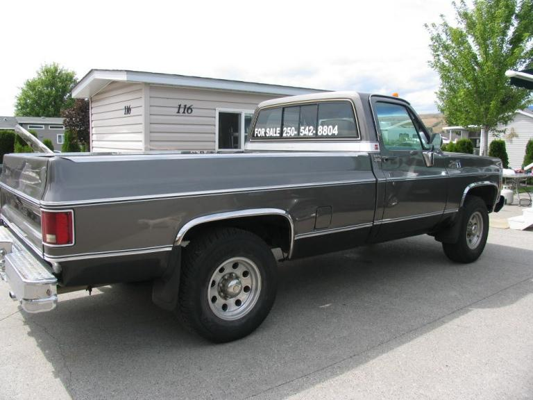1980 Gmc 2500 Sierra Classic Trailering Special Pickup