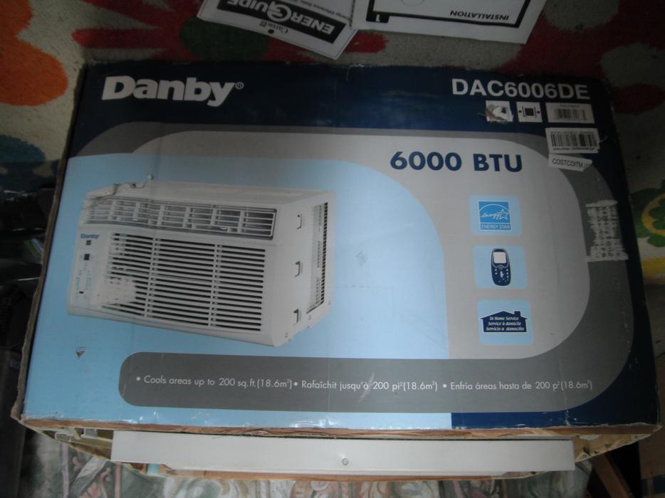 danby 6000 btu window air conditioner manual