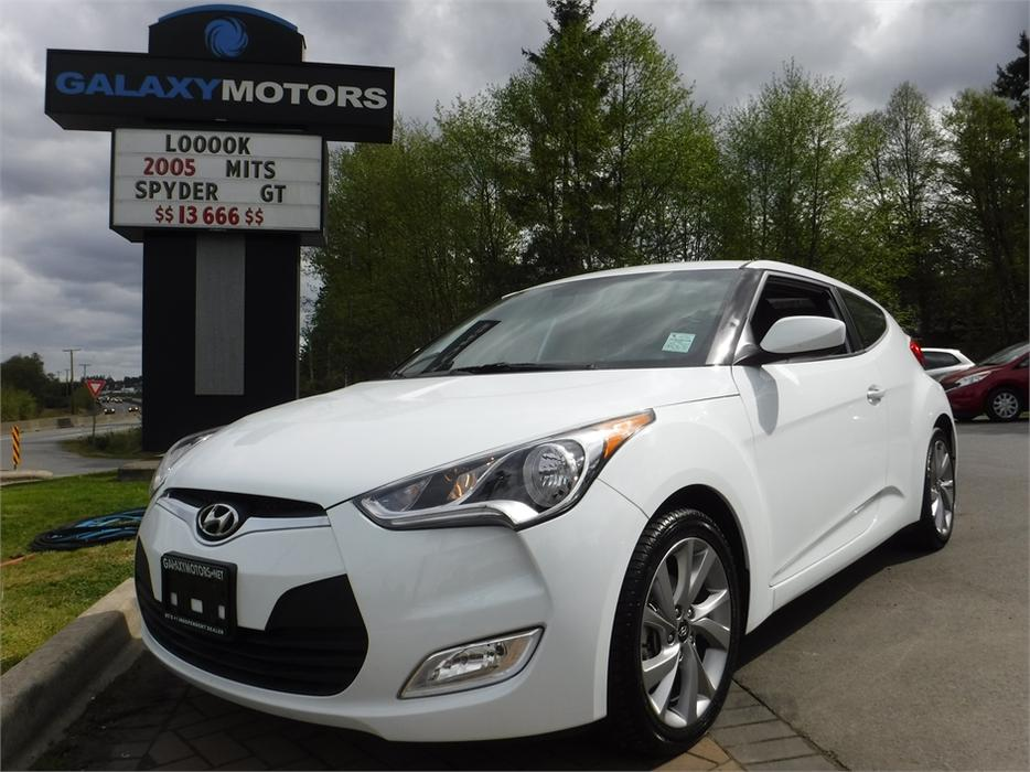 2016 Hyundai Veloster Se Bc Only Accident Free Alloy