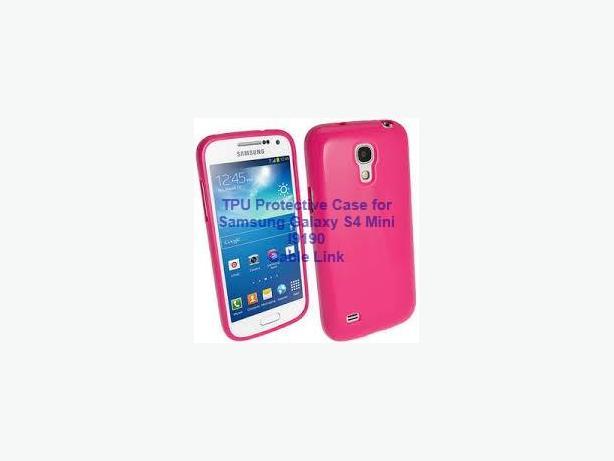 New TPU Case Cover Skin for Samsung Galaxy S4 IV Mini i9190