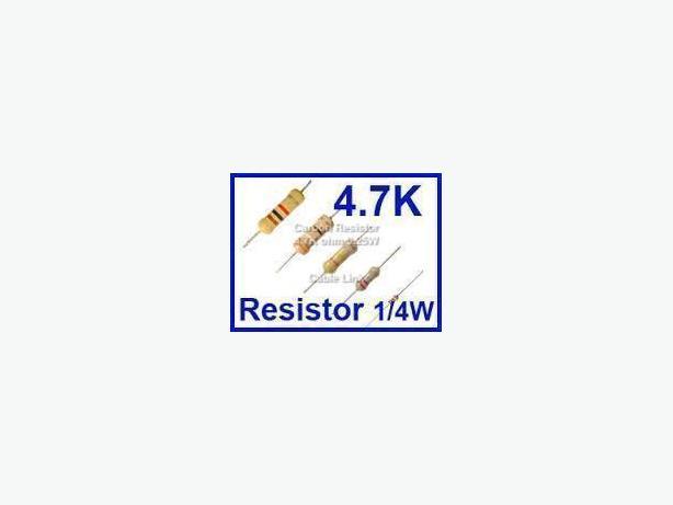 1/4W 0.25W 5% Carbon Film Resistor