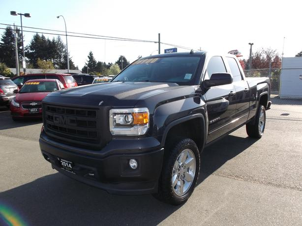 2014 gmc sierra double cab 4x4 z71 for sale outside comox valley comox valley. Black Bedroom Furniture Sets. Home Design Ideas