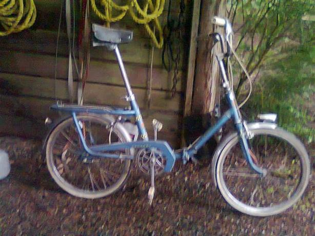 Vintage French Folding Bicycle